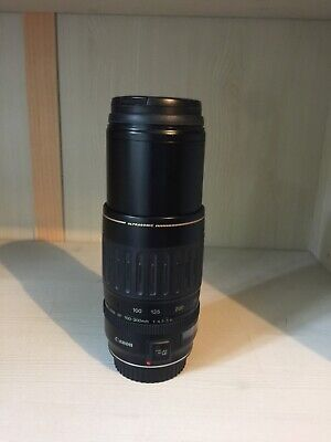 Canon EF 100-300mm f4.5-5.6 telephoto USM Lens, very good condition