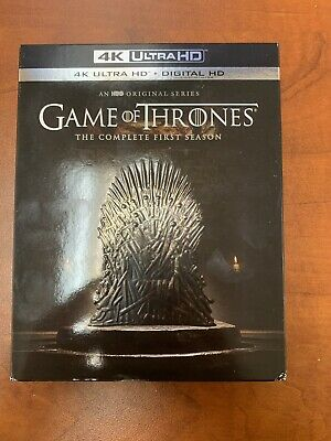 Game of Thrones: The Complete First Season (4K Ultra HD Blu-Ray)