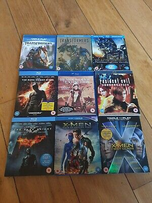 Blu ray bundle x 9
