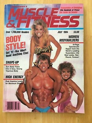 MUSCLE & FITNESS magazine July 1984 vintage bodybuilding back issue