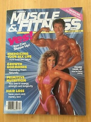 MUSCLE & FITNESS mag November 1989 vintage bodybuilding back issue Frank Zane