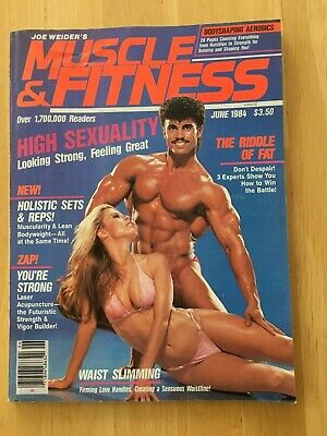 MUSCLE & FITNESS magazine June 1984 vintage bodybuilding back issue