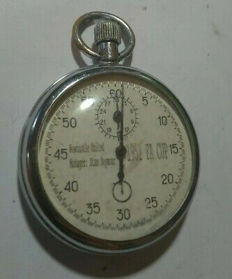 Newcastle United Manager: Stan Seymour 1951 FA Cup Stop watch, working