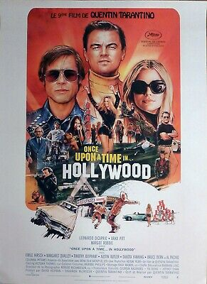 Once Upon A Time In Hollywood - Tarantino - Original Large Rolled Movie Poster