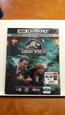 Jurassic World 2 Fallen Kingdom  blu-ray 4K région ABC lire Descriptif