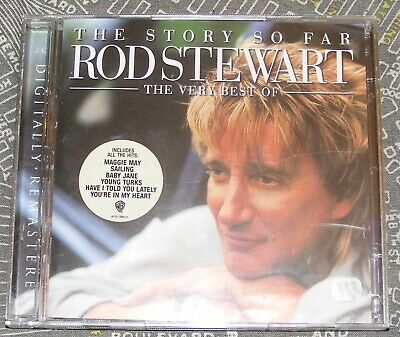 Rod Stewart - The Story So Far; The Very Best Of (CD 2001) remastered = USED