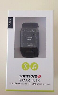 TomTom Spark Music GPS Fitness Watch - Bluetooth, 4GB Memory