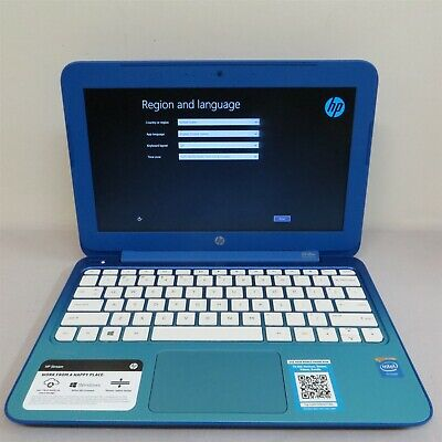 "HP Stream 11-d010wm 11.6"" Celeron N2840 2.16GHz 2GB 32GB Windows 8 Laptop #11857"