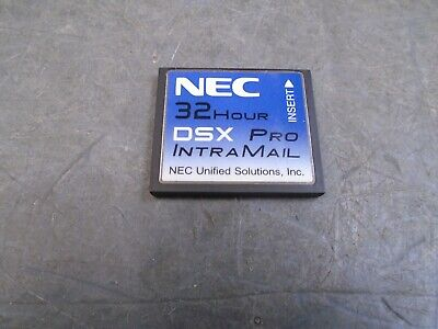 NEC 32 Hour DSX Pro Intramail CF card