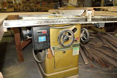 Powermatic 10-in Table Saw, Three Phase, 5 HP, 54-inch besimere fence