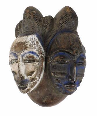 Punu Two Faced Mask Maiden Spirit Gabon Africa COLLECTION
