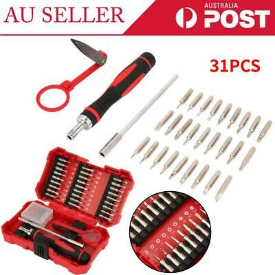 31PCS Ratchet Screwdriver Tool Set Portable Home Screwdriver Maintenance Tools