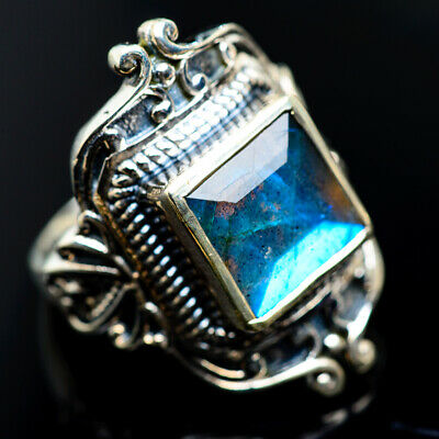 Large Labradorite 925 Sterling Silver Ring Size 9 Ana Co Jewelry R962593F