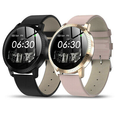 Smart Watch Fitness Tracker Heart Rate Blood Pressure Waterproof Tempered Mirror