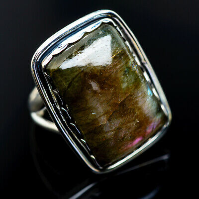 Large Labradorite 925 Sterling Silver Ring Size 7 Ana Co Jewelry R962857F