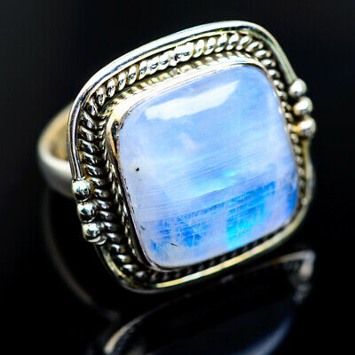 Large Rainbow Moonstone 925 Sterling Silver Ring Size 8 Ana Co Jewelry R963025F