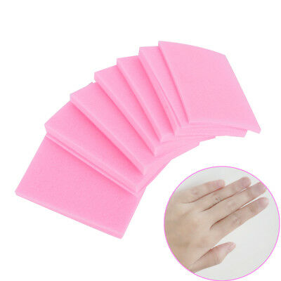 3x Nail Polish Remover Cleaner Manicure Wipes Lint Free Cotton Pads Paper Art_HC