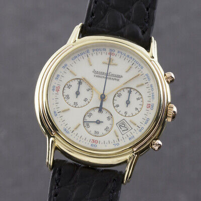 Jaeger Lecoultre Odysseus Chronograph 18k Gold Men's Watch 165.7.30 Classics