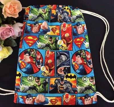 Unique Library Bag/Drawstring Kinder/Toys/Girl/Boy/Quality Super Heroes