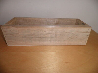 """Handmade Wooden Soap Mould size 11.5"""" / Unpainted /Made from Reclaimed Wood."""
