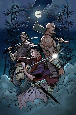 Ronin Island # 6 FOC Variant Cover NM Boom Pre Sale Ships Sept 11th
