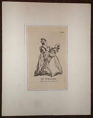 Portriat Of Mrs. Patience Lovell Wright. Sculpture And Spy, 1775
