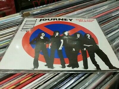 JOURNEY,DON'T STOP BELIEVIN',CBS A1728, UK 1ST PRESS 1981  lovely condition
