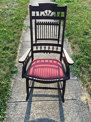 Antique Wooden Rocking Chair. Very nice condition.