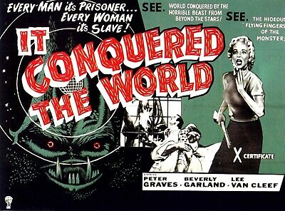 It Conquered The World ( Rare 1956 Dvd ) * Peter Graves * Beverly Garland