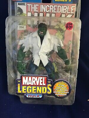 Incredible Hulk ( 2002 ) Marvel Legends ( Series Ii ) Action Figure + Comic Book