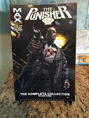 Marvel Comic The Punisher The Complete Collection Volume 3 Explicit Content