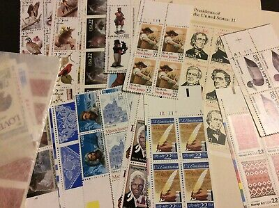 $50 Face Value Discount Postage: Mint Unused Scraps to MNH FV, NO Forever Stamps