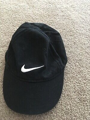 574619ccb NIKE-BLACK BASEBALL CAP Hat Boy's Girl's Size Toddler One Size Os