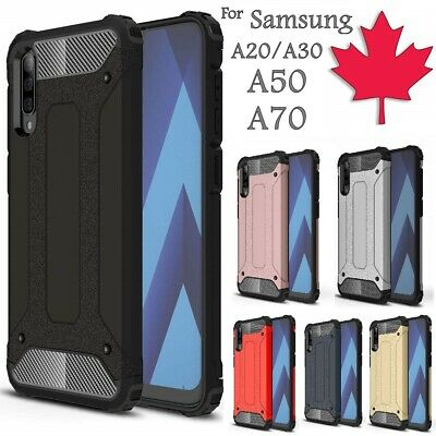 For Samsung Galaxy A20 A30 A50 A70 Case - Heavy Duty Shockproof Hard Armor Cover