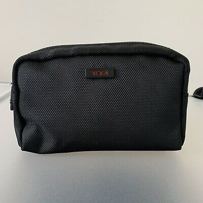 Delta One Business Class Tumi Travel Amenity Toiletry Kit Soft Case