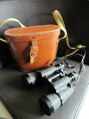 Vintage Zenith 10 X 50 Field Binoculars With Carry Case