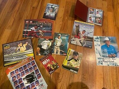 collector Fishing Cards and Magazines. Lots of autographs!