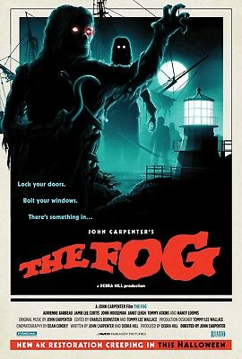 John Carpenter's The Fog movie poster (b) - Jamie Lee Curtis - 11 x 17