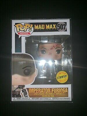FUNKO POP MOVIES MAD MAX IMPERATOR FURIOSA #507 CHASE VARIANT w/PROTECTOR