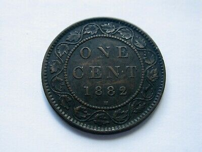 1882H Canada Large One Cent
