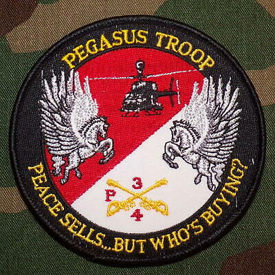 US Army P Troop, 3rd Squadr, 4th Cavalry Regiment (3/4 Cav) Color Patch