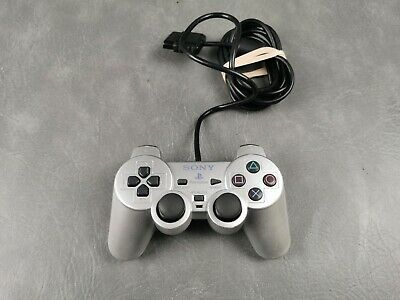 Official Sony PlayStation 2 Silver Controller Pad