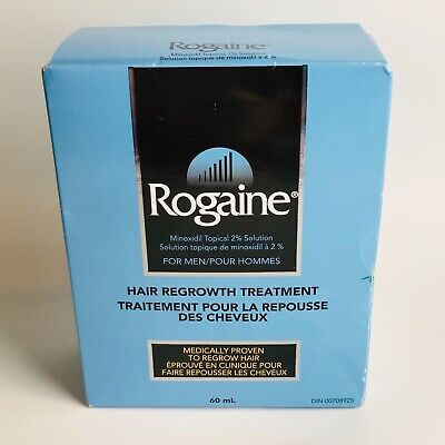 Rogaine Minoxidil Hair Regrowth Treatment for Men Topical 2% Solution 60ml