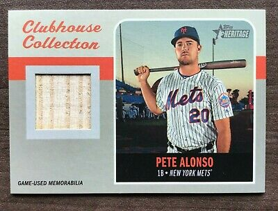 2019 Topps Heritage High Number Clubhouse Collection Relic ~ Pick your Card