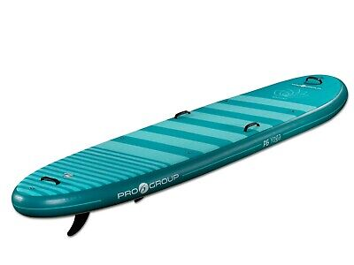 """Pro6 P6-Yoga ISUP Inflatable Stand-Up Paddle Board 126""""x35""""x6"""", 10' 6"""" Dark Teal"""