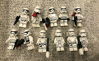 LEGO Star Wars Lot of 10 Stormtrooper Minifigures Mini Figs Storm Troopers