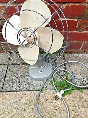 Vintage Electric oscillating fan