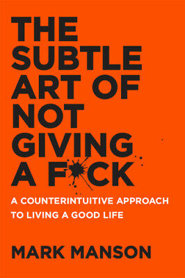 The Subtle Art of Not Giving a Fck by Mark Manson P.DF HD FAST & SAFE DELIVERY