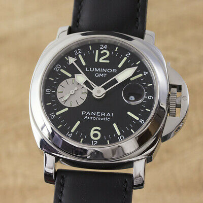 Panerai Luminor Gmt Stainless Steel Automatic Men's Watch PAM00088 Np
