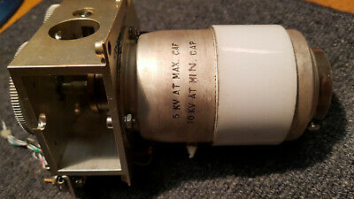 Jennings CSV1-500-0205 Vacuum Variable Capacitor 5-5000pF 5kv Motorised